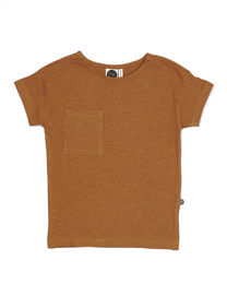 Mainio - SLUB T-SHIRT, Sudan Brown