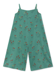 Bobo Choses - Poppy Prairie Straps Playsuit,  Frosty (119082)