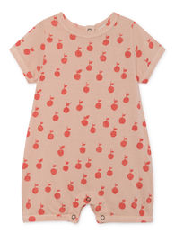 Bobo Choses - Apples Playsuit, Rose Dust (119207)