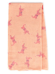 Bobo Choses - Dogs Muslin 100 x 90 cm (119237 )