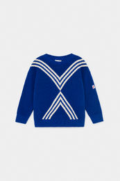 Bobo Choses - Three Stripes Knitted Jumper 12001140