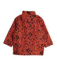 Mini Rodini - Leopard Piping Jacket, Red