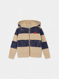 Bobo Choses - Striped Mercury Hooded Sweatshirt (219047)