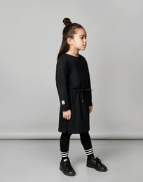 Mainio - Mainio x Pure Waste Pure Sweat Dress, Black