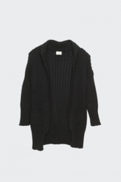 I dig denim - Greta Cardigan, Black