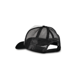 Makia - Fast Trucker Cap Mitchell&Ness, Black / White