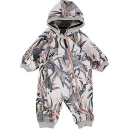 Molo Kids - Hill softshell suit, Jumping leopards