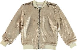 Molo Kids - Hansine bomber jacket, Dirty White