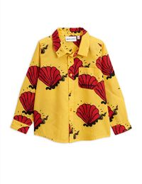 Mini Rodini - Shell woven shirt, yellow