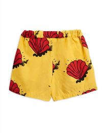Mini Rodini - Shell woven shorts, yellow