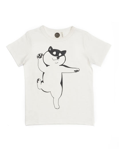 Mainio - Doggi T-shirt, Whisper white