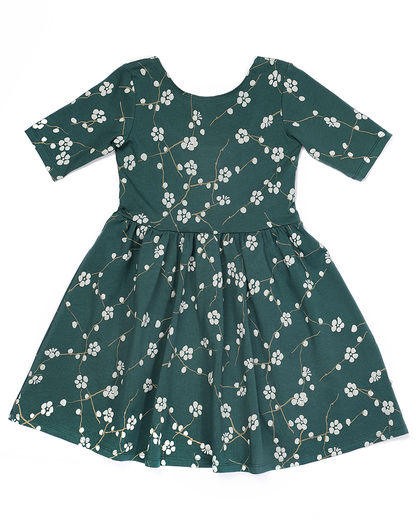 Mainio - Bloom dress, Green