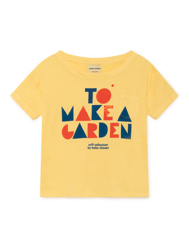 Bobo Choses - Geometric Short Sleeve T-Shirt, Mellow (119002)