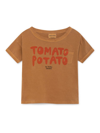 Bobo Choses - Tomato Potato Short Sleeve T-Shirt (119009)