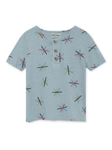 Bobo Choses - Dandelion Buttons T-Shirt, Ashley (119023)