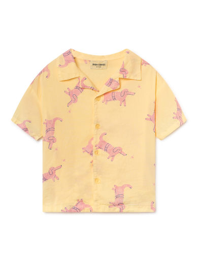 Bobo Choses - Dogs Hawaiana Shirt (119047)