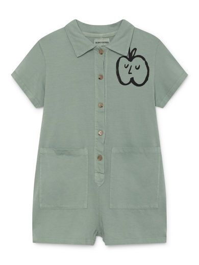Bobo Choses - Apple Pockets Playsuit, Purple (119077)