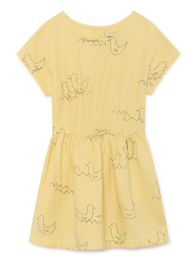 Bobo Choses - Geese T-Shape Dress, Mellow (119091)