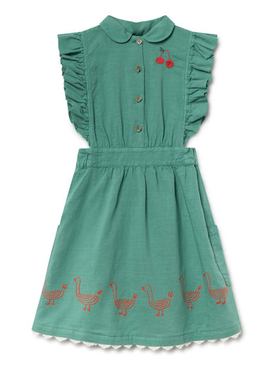 Bobo Choses - Geese Ruffles Dress (119094)