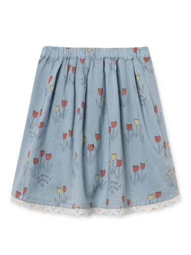 Bobo Choses - Poppy Prairie Flared Skirt, Ashley (119103)