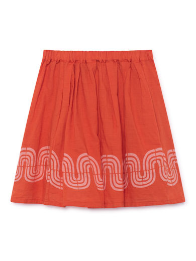Bobo Choses - Road Flared Skirt, Red (119104)