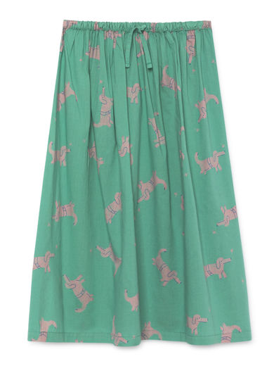 Bobo Choses - Dogs Midi Skirt, Frosty (119108)