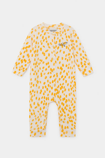 Bobo Choses -   Animal Print Jersey Overall 12000039
