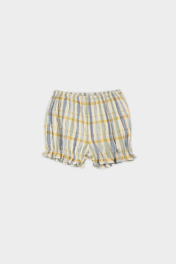 Bobo Choses - Checker Woven Shorts 12000058