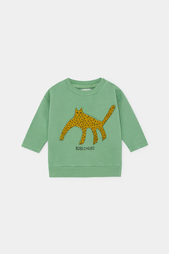 Bobo Choses - Leopard Sweatshirt 12000072