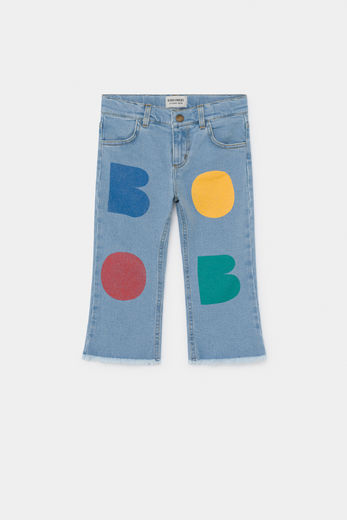 Bobo Choses - Multicolor Bobo Flared Denim Pants 12001093