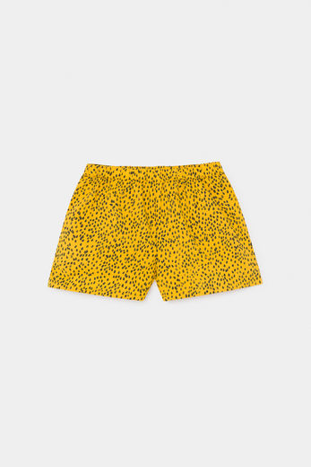 Bobo Choses -  All Over Leopard Woven Shorts 12001137