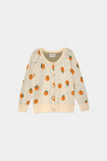 Bobo Choses - Oranges Knitted Cardigan 12001186