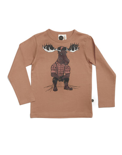Mainio - Moose shirt, Sandstorm