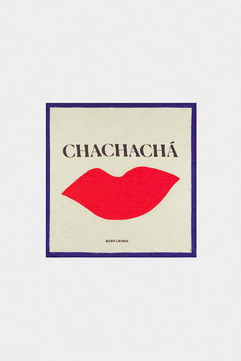 Bobo Choses - Chachacha Kiss Square Scarf 12011033