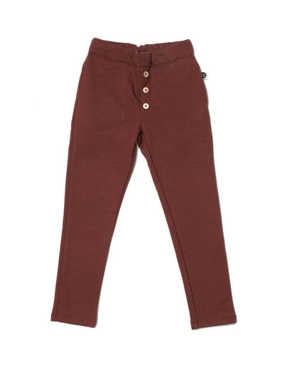 Mainio - Button Sweatpants, Hot Chocolate