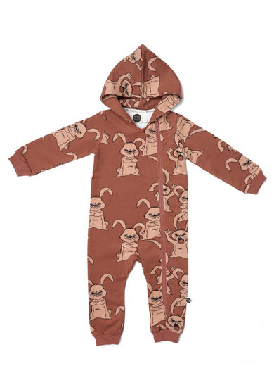 Mainio - Hubbub Hooded Jumpsuit