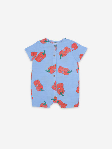 Bobo Choses - Vote For Pepper All Over Woven Playsuit, 121AB027