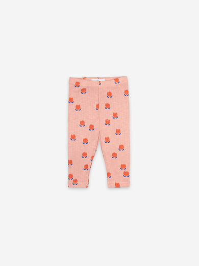Bobo Choses - Chocolate Flowers All Over Leggings, 121AB056