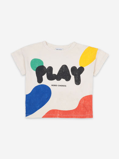 Bobo Choses - Play Landscape Short Sleeve T-Shirt, 121AC008