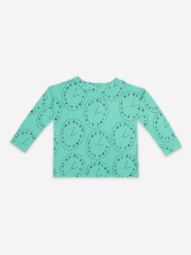 Bobo Choses - Playtime All Over Long Sleeve T-Shirt, 121AC027