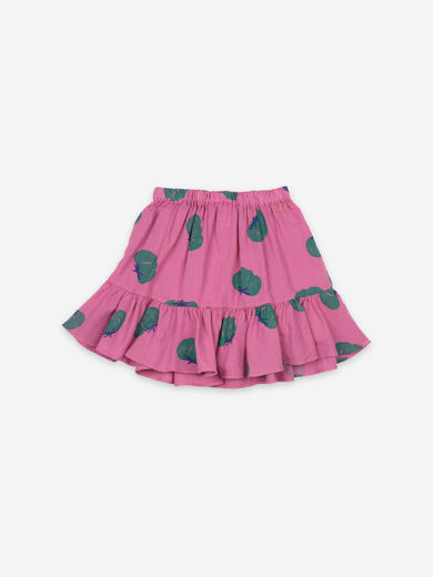 Bobo Choses - Tomatoes All Over Ruffle Mini Skirt, 121AC086