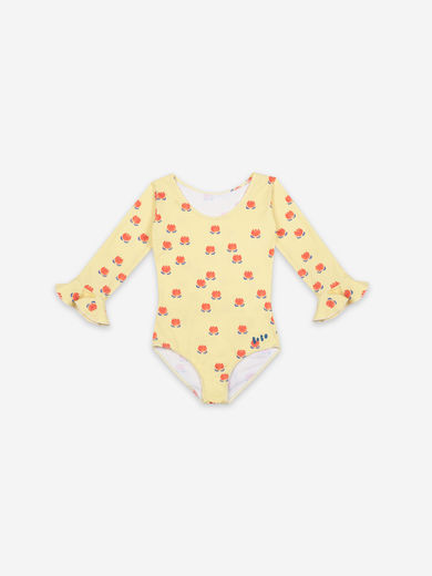 Bobo Choses - Chocolate Flowers All Over Swimsuit, 121AC168