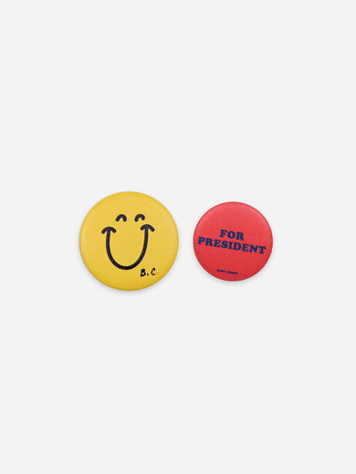 Bobo Choses - Smile&President Badge, 121AI079