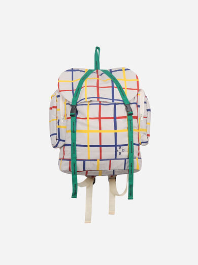Bobo Choses - Multicolour Check Backpack, 121AK006