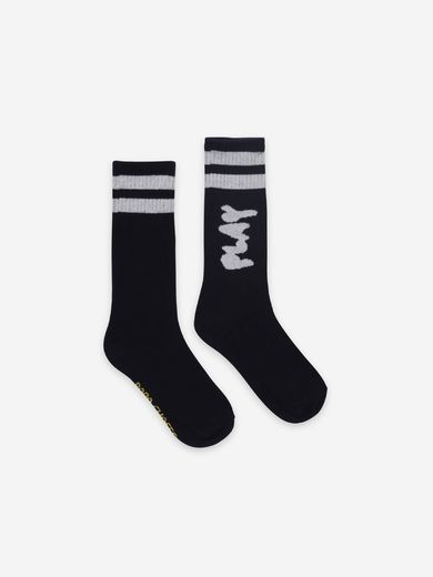 Bobo Choses - Play Black Long Socks, 121AI017