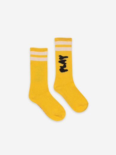 Bobo Choses - Play Yellow Long Socks, 121AI018