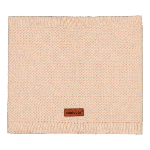 METSOLA - Knitted Tube Scarf, Pearl Blush