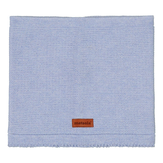 METSOLA - Knitted Tube Scarf, Denim