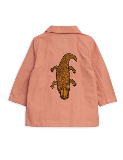 Mini Rodini - Safari crocco jacket, Pink