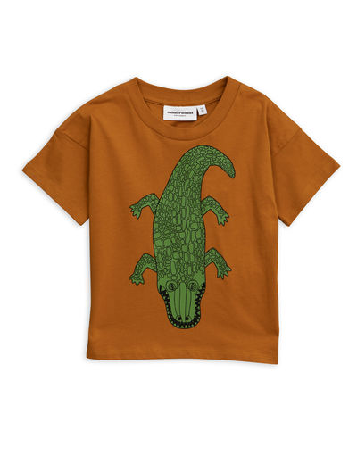 Mini Rodini - Crocco sp tee, Brown